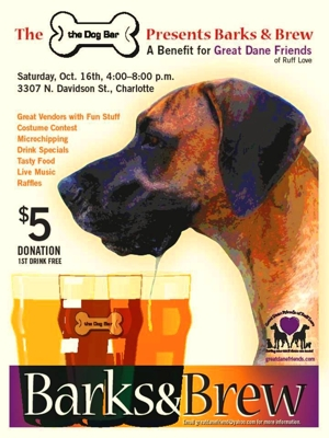 2nd Annual Barks and Brew Oct 16th