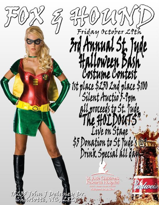 3rd Annual St. Jude Halloween Bash Oct 29th