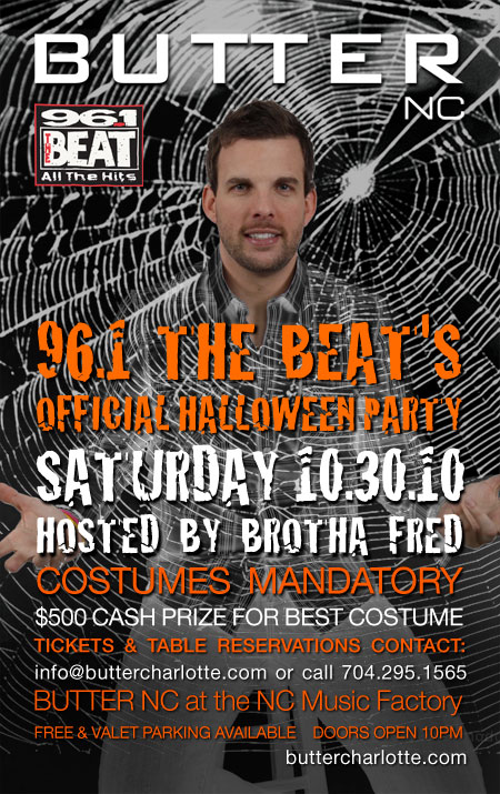 96.1 Official Halloween Party hosted by Brotha Fred