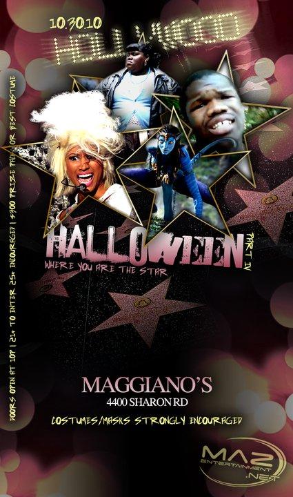 Hollywood Halloween Oct 30th