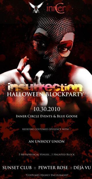Insurrection Halloween Block Party