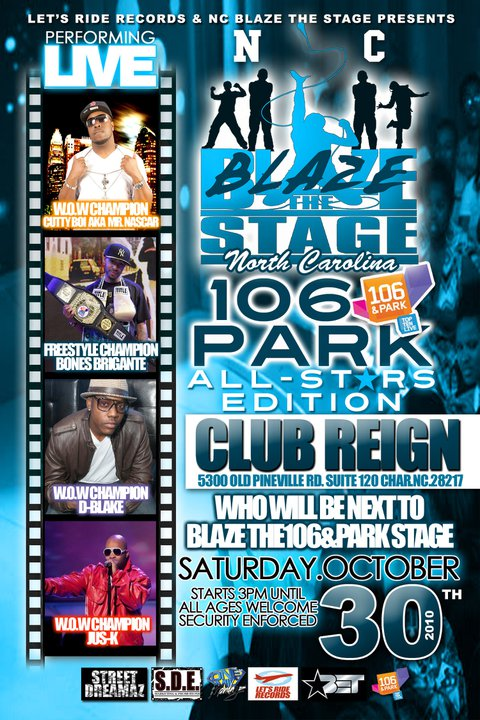 NC Blaze The Stage – 106 & Park All Stars Edition