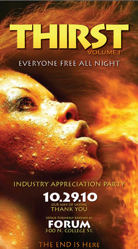 Thirst Volume I: Charlotte Industry Party