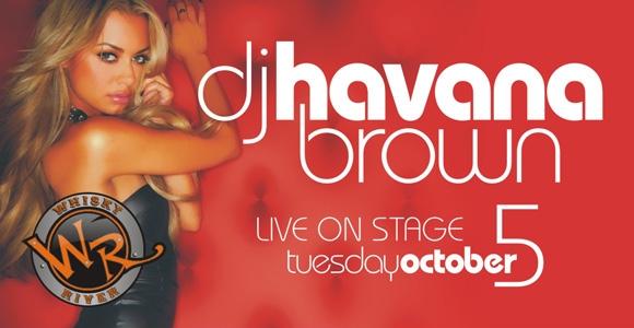 Pajama Jam Hosted By DJ Havana Brown Oct 5th