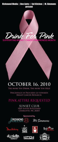 Drink For Pink Party With A Purpose