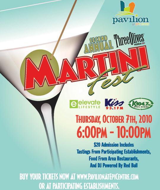 Three Olives Martini Fest Oct 7th