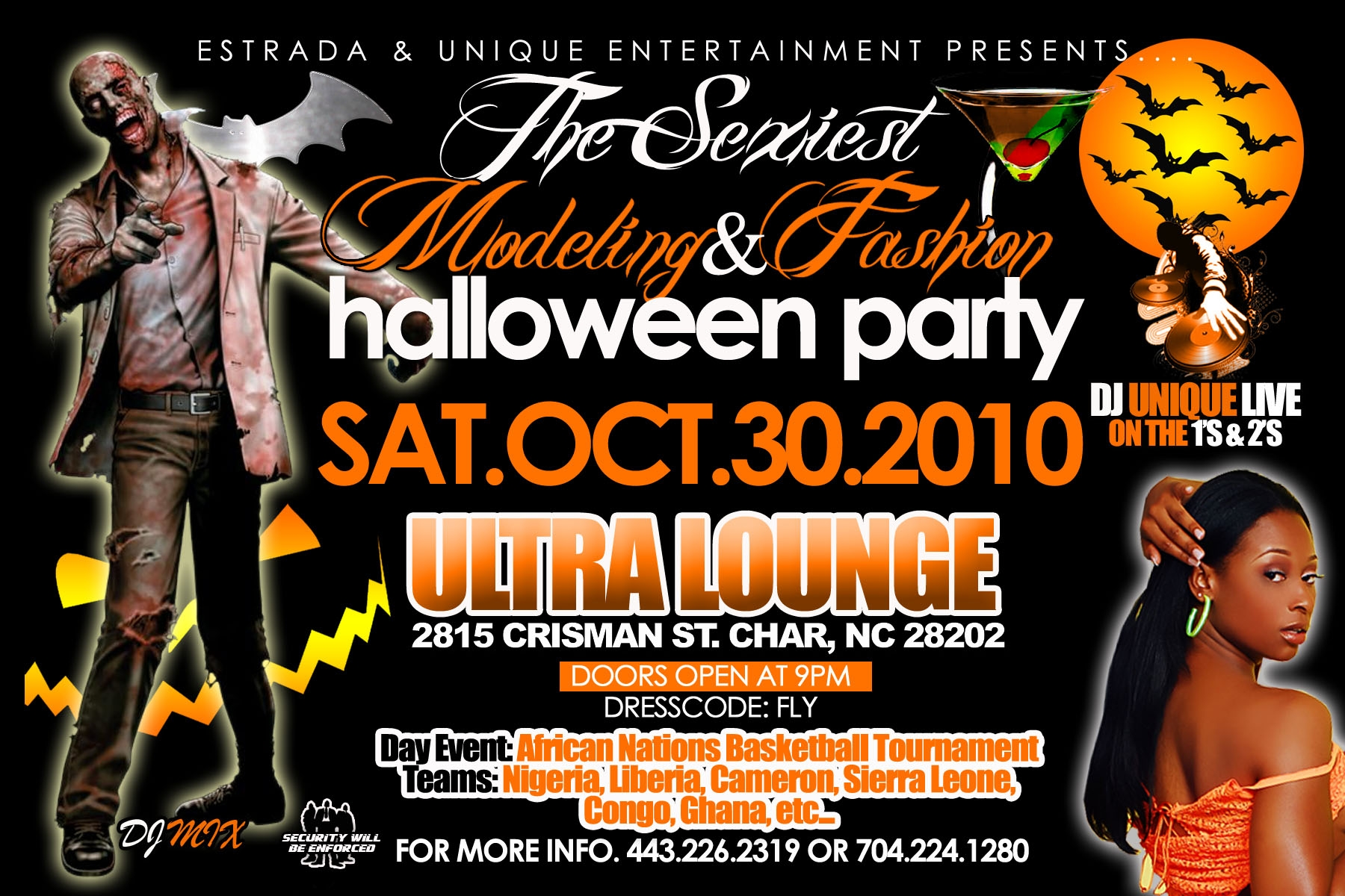 Modeling & Fashion Halloween Party