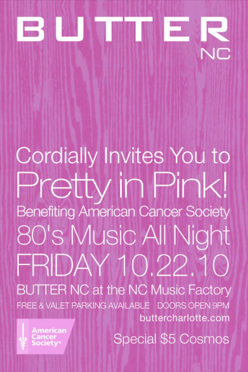 Pretty in Pink! Benefiting American Cancer Society