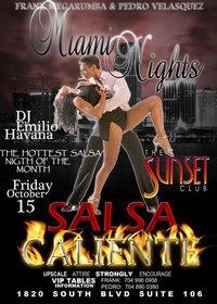 Miami Nights Present Salsa Caliente