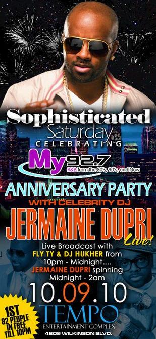 Sophisticated Saturdays With Jermaine Dupri