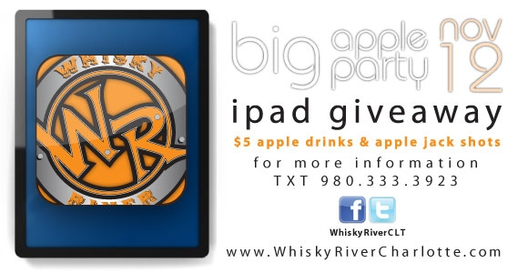 Big Apple Party at Whisky River