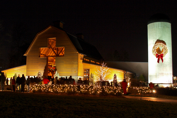 Christmas at the Billy Graham Library Dec 1st-23rd