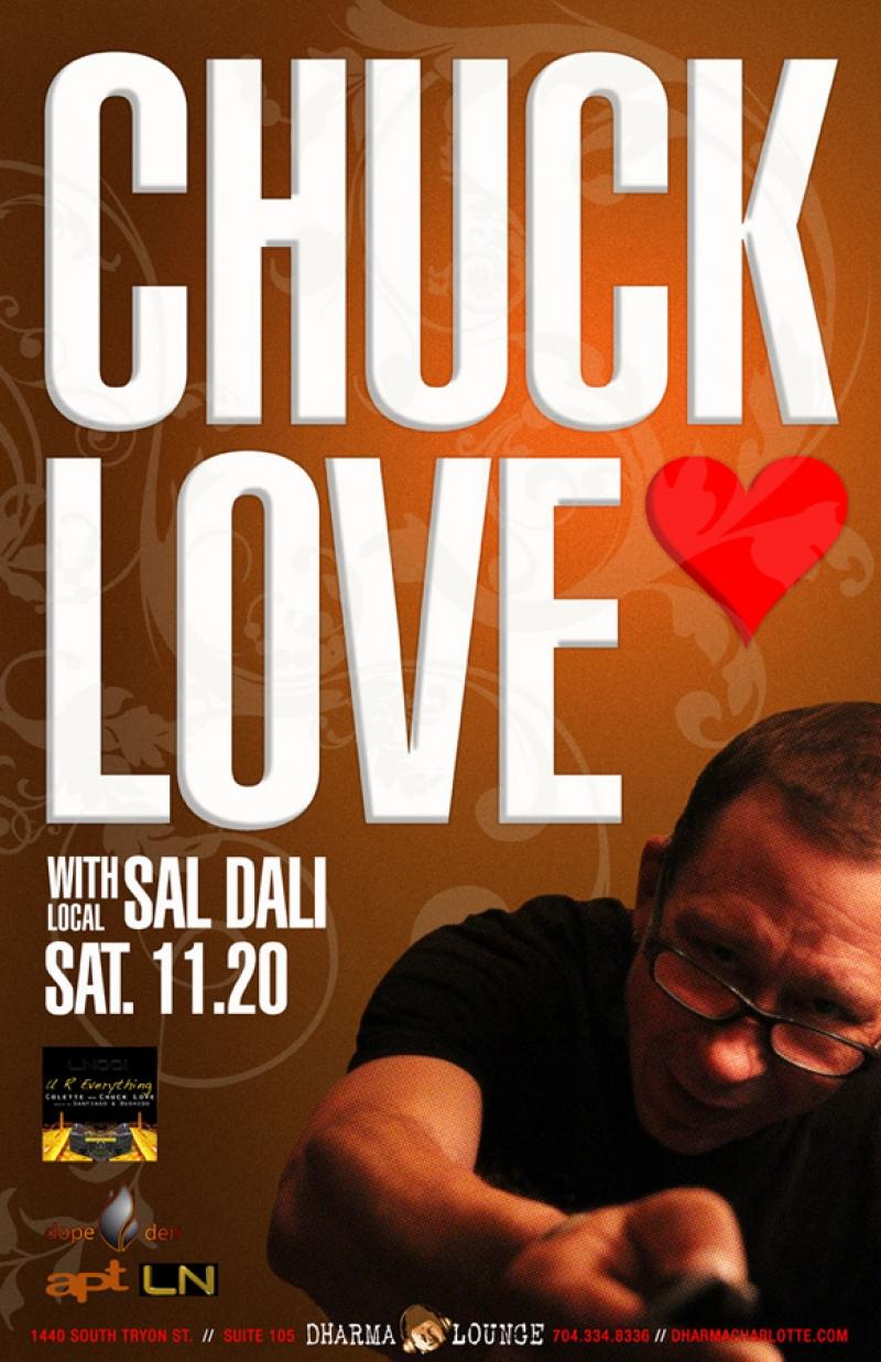 Chuck Love at Dharma Lounge