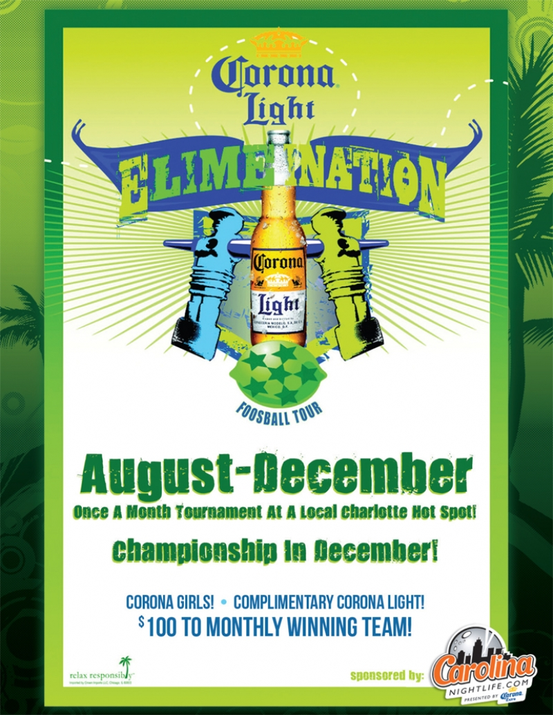Corona Light ELimeINation Foosball Tournament 2010