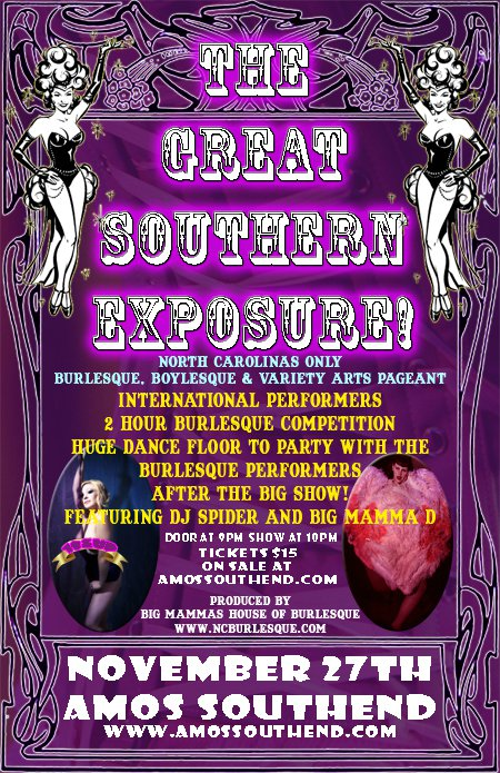 Great Southern Exposure Burlesque Pageant