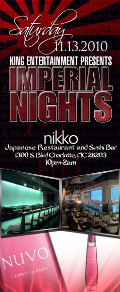 King Ent Presents Imperial Nights