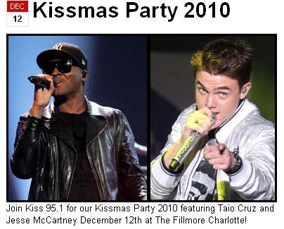 KISS 95.1 Presents Kissmas Concert 2010
