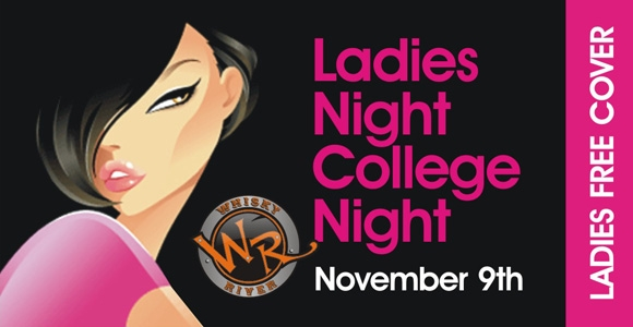 Ladies Night College Night @ Whisky River