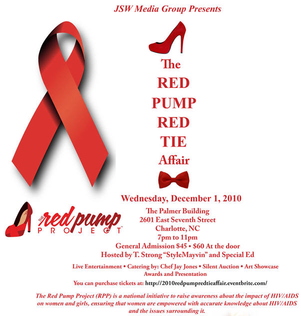 2nd Annual Red Pump Red Tie Affair Dec 1st