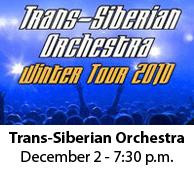 Trans-Siberian Orchestra Dec 2nd