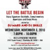 Master of the Mix November 3rd