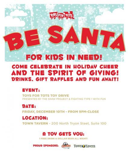 Be Santa For Kids In Need