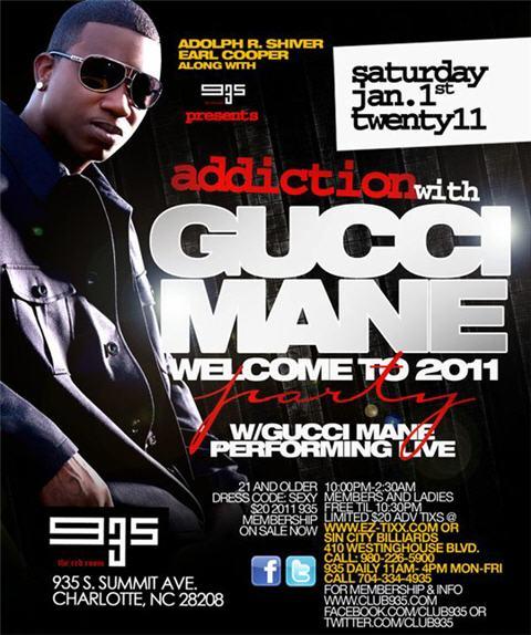 Gucci Mane Live January 1st