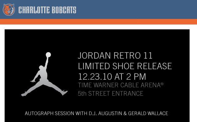 Jordan Retro 11 Limited Shoe Release Dec 23rd