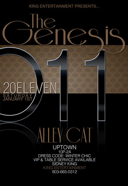King Ent Presents: Genesis New Years Day