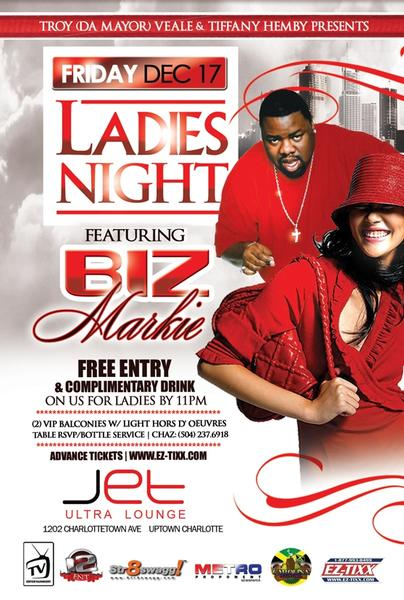Ladies Night Out Presents Biz Markie