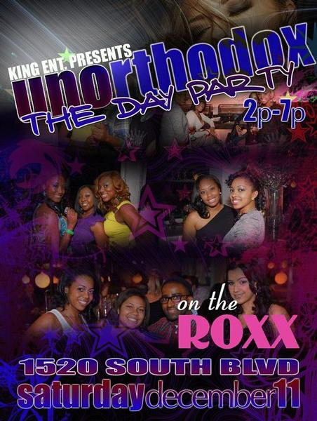 Unorthodox – The Day Party Dec 11th