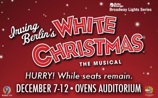 White Christmas The Musical Dec 7th – 12th
