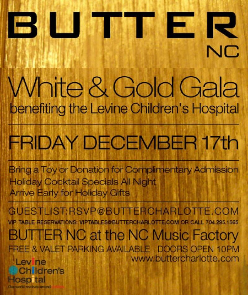 White & Gold Holiday Gala Fri Dec 17th