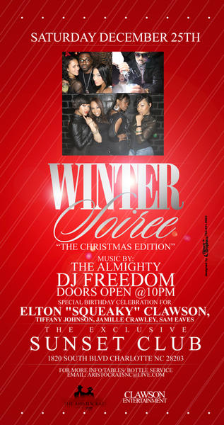 Winter Soiree – The Christmas Edition 2010