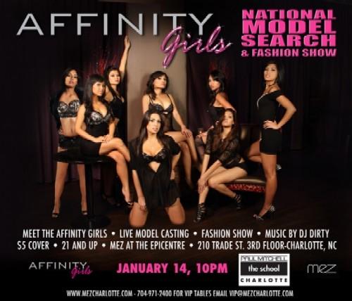 Affinity Girls Fashion Show & Casting Call
