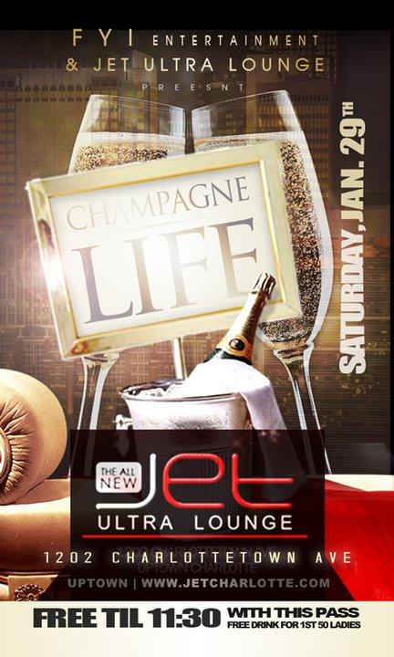 Champagne Life Jan 29th