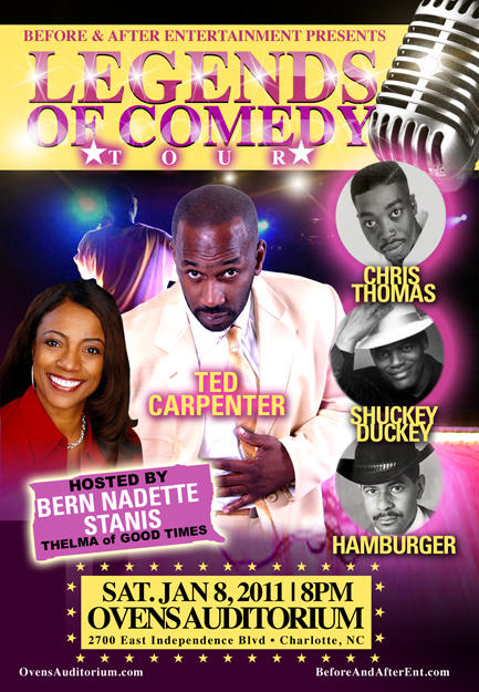Legends of Comedy Tour Jan 8th