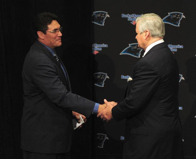 Carolina Panthers New Head Coach Ron Rivera
