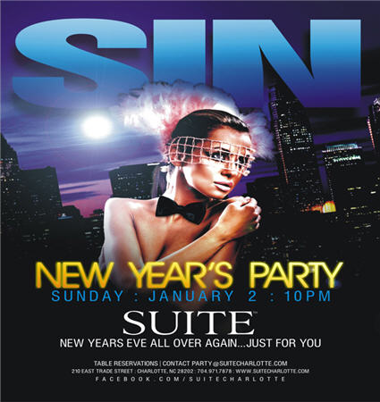 SIN – New Years Party Jan 2nd