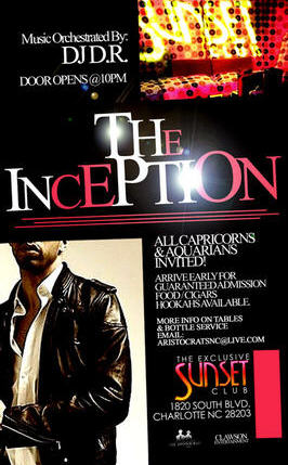 The Inception Jan 22nd