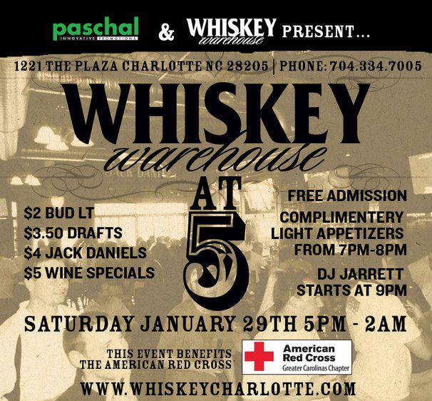 Whiskey Warehouse At 5