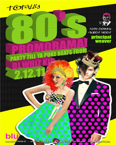 2nd Annual 80′s Prom
