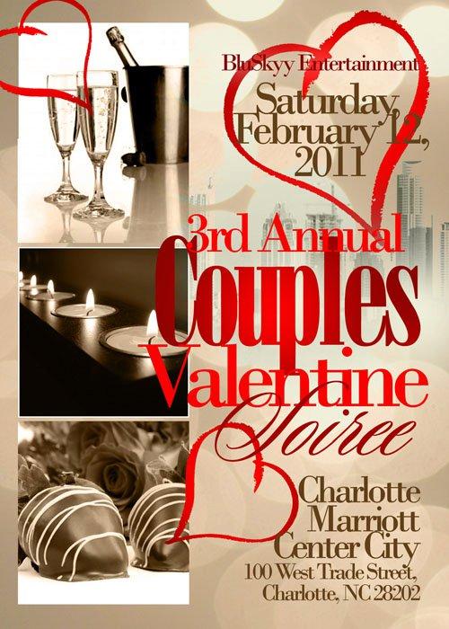 3rd Annual Couples Valentine Soiree Feb 12th