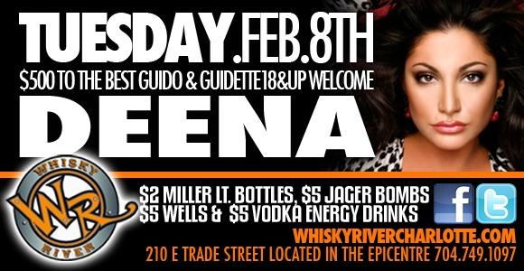 Deena from Jersey Shore Feb 8th