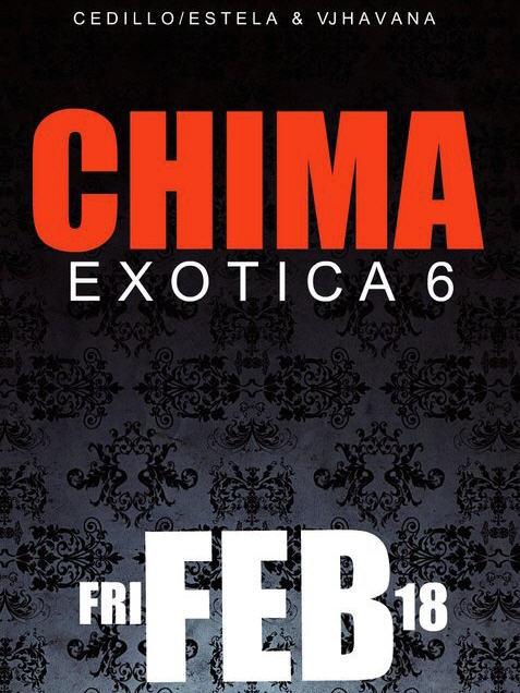 Exotica 6 Feb 18th