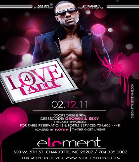 Lance Gross @ 5th Element Feb 12th