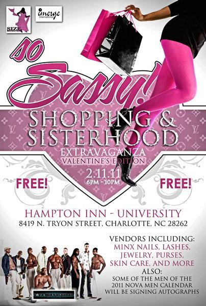 So Sassy Shopping & Sisterhood Extravaganza – Valentine's Edition