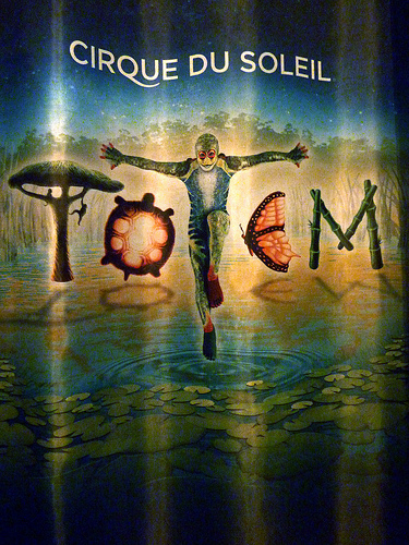 TOTEM By Cirque du Soleil March 3rd – 27th