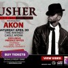 Usher OMG Tour April 30th