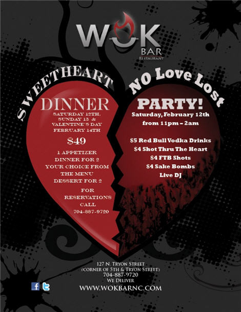 Sweetheart Dinner & No Love Lost Party